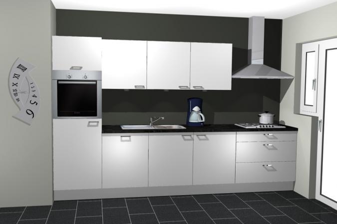 Keuken livorno recht straal met uw keuken